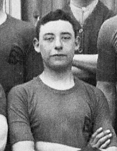 Alexander Frank Crawshaw in training at Blackdown Camp in 1912