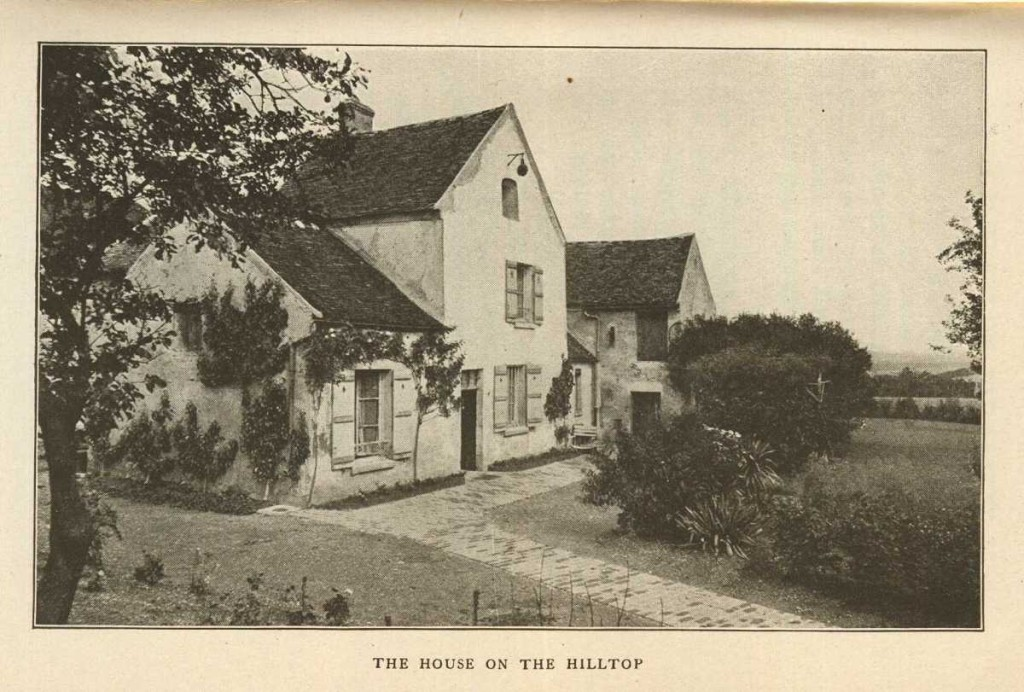 An image of the house at Huiry