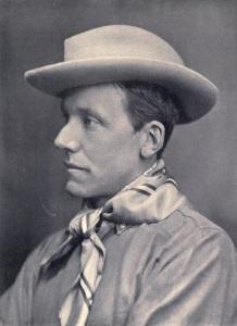 A photograph of Major Hesketh Vernon Hesketh-Prichard.