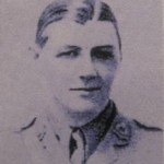 Captain Edwin Edwards of the 1st Bn Bedfords